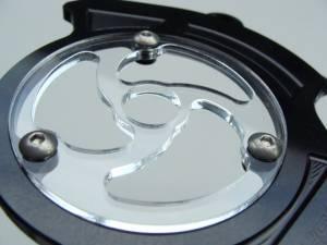 SpeedyMoto - SPEEDYMOTO Leggero Sprocket Cover with Clear lens Center - Image 1