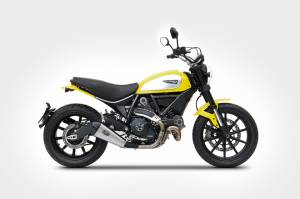Zard - ZARD Ducati Scrambler Conical Low mount Slip-on