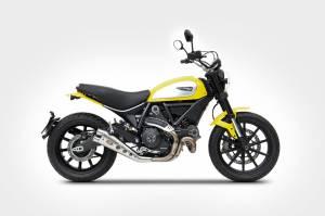 Zard - ZARD Ducati Scrambler Classic Low mount Slip-on - Image 1