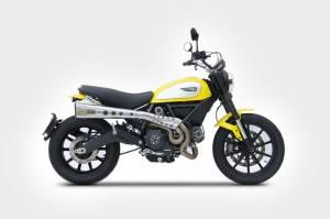 Zard - ZARD Ducati Scrambler High Mount Full System - Image 1