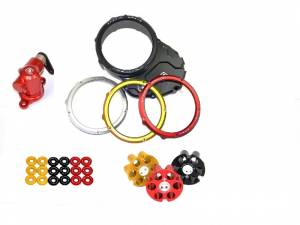 Ducabike Clutch Cover Kit with Clutch Cable Actuator: Ducati Scrambler - Image 1
