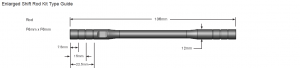 Motowheels - Billet Universal Shift Rod