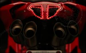 TST - Integrated Sequential Tail Light: Ducati 848, 1098, 1198 - Image 1