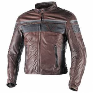 DAINESE Closeout  - DAINESE Blackjack Leather Jacket [Dark Brown/Black Euro 58] - Image 1