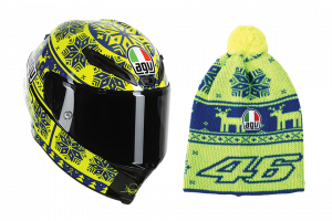 AGV - AGV Corsa Valentino Rossi Winter Test 2015 Limited Edition Helmet (Ugly Sweater)