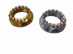 Motowheels - MW Billet 12 Pt. Axle Nut: 748-998, 848, SF848, MTS1000-1100, S2R-S4RS, M796-1100, Mhe, Hyperstrada/Hypermotard 821 - Image 1