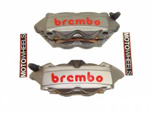 Brembo - BREMBO CAST MONOBLOC M4 CALIPERS: 100MM RADIAL MOUNT ONLY