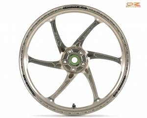 OZ Motorbike - OZ Motorbike GASS RS-A Forged Aluminum Front Wheel: Suzuki Hayabusa '08-'14 Non ABS