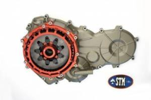 STM - STM SBK Dry Slipper Clutch Conversion Kit: Panigale 899, Including Basket, Plates And Magnesium Case