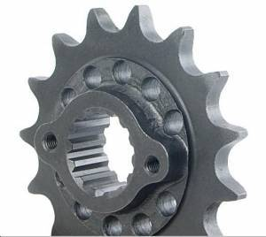 SUPERLITE - SUPERLITE 520 Pitch Chromoly Steel Drilled Countershaft Front Sprocket - Ducati Scrambler/748/916/996/Hypermotard 796/MTS1000/1100/M797 - Image 1