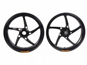 OZ Motorbike - OZ Motorbike Piega Forged Aluminum Wheel Set: Ducati 1098-1198, SF, MTS1200, Monster1200
