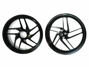 Used Parts - Ducati O.E.M USED Aluminum Wheels: Fits M1200, MTS1200, 1098, 1198, SF1098: Fits M1200, MTS1200, 1098, 1198, SF1098
