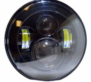 """Corse Dynamics - CORSE DYNAMICS 7 inch LED Vettore """"Daymaker"""" Headlight - Image 1"""