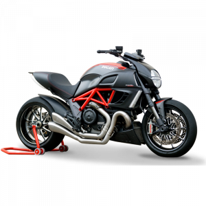 HP Corse - HP Corse Hydroform Slip-On Exhaust System [Factory Line Version]: Diavel