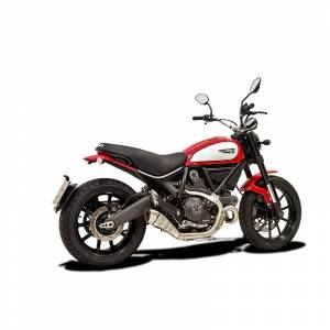 HP Corse - HP Corse Hydroform Slip-On Exhaust System:  Scrambler