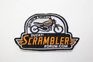 Ducati Scrambler Patch - Image 1