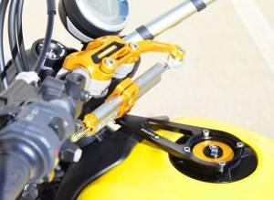 Ducabike - Ducabike/Ohlins Steering Damper Complete Kit: Ducati Scrambler 803 [All except Desert Sled/Cafe Racer] - Image 1