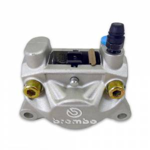 Brembo - BREMBO Rear Caliper P32F- 32mm Piston 20.5161.86 [Silver]