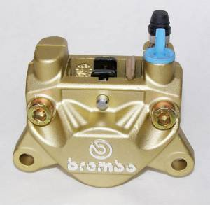 Brembo - BREMBO Rear Caliper P32F- 32mm Piston 20.5161.43 [Gold] - Image 1