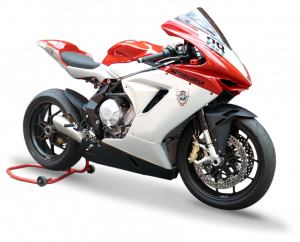 HP Corse - HP CORSE HYDROFORM STAINLESS SATIN Slip-On exhaust : MV AGUSTA F3 675 / 800