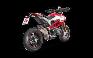 Akrapovic - Akrapovic Titanium Slip-On: Ducati Hypermotard 939