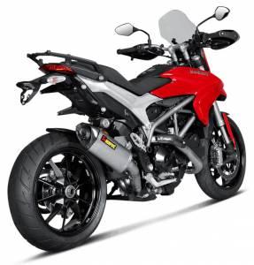 Akrapovic - Akrapovic Titanium Slip-On: Ducati Hyperstrada 939