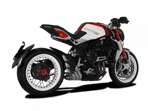 HP Corse - HP CORSE HYDROTRE SATIN STEEL SLIP ON EXHAUST: MV AGUSTA DRAGSTER/ RR [CARBON COVER] - Image 1