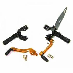 Ducabike - Ducabike Adjustable Rear Sets: Streetfighter [Folding Pegs]