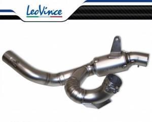 Leo Vince - LeoVince 8065 Decat Mid-Pipe: Ducati Multistrada 1200 [2010-2014]