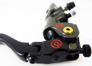 Brembo - BREMBO RACING RADIAL BRAKE RICAVATA CNC PR 19X18 : MOTO GP Quality