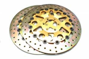 Discacciati - Brembo Style Full Floating Iron Rotors (pair)