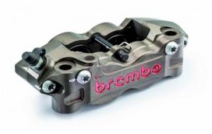 Brembo - BREMBO Billet Hard Anodized Radial CNC 2 Piece Calipers: 108mm [PAIR] - Image 1