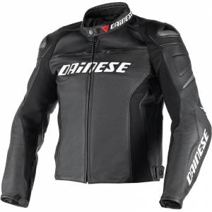 DAINESE Closeout  - DAINESE Racing D1 Perforated Jacket Short/Tall [Closeout – No Returns or Exchanges]