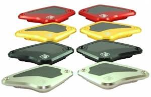 Ducabike - Ducabike Billet / CF Brake/Clutch Fluid Reservoir Caps: Ducati Diavel / X Diavel - Image 1