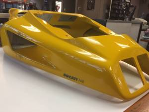 Used Parts - USED-748 Tail Section Body Work / Fairing Biposto - Image 1