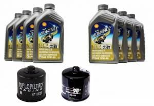 ducati oil change kit shell advance 4t ultra 10w 40 or. Black Bedroom Furniture Sets. Home Design Ideas