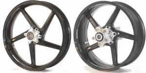 """BST Wheels - BST 5 Spoke Wheel Set: BMW S1000 RR/ S1000 R [6.0"""" Rear] - Image 1"""
