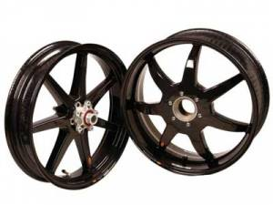 "BST Wheels - BST 7 Spoke Wheel Set: MV Agusta F3/Brutale 675-800/ Stradale, Rivale, Dragster/ RC [6.0"" Rear] - Image 1"