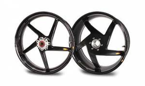 "BST Wheels - BST 5 SPOKE WHEELS: DUCATI 748-998, S2R-S4R, MTS1000-1100, MHE [5.75"" REAR] - Image 1"