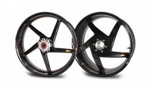 """BST Wheels - BST 5 SPOKE WHEELS: Ducati 748-998, S2R-S4R, MTS1000-1100, MHE [6.0"""" Rear]"""