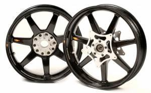BST Wheels - BST Panther Tek 7 Spoke Carbon Fiber Wheel Set: BMW R1250GS/RS, Adventure, R1200GS '13-'18 - Image 1