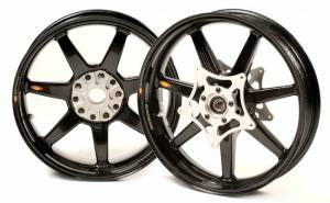 BST Wheels - BST 7 Spoke Wheel Set: BMW HP2 Megamoto - Image 1