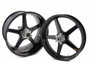 """BST Wheels - BST 5 Spoke Rear Wheel: Ducati Scrambler 5.5""""X17"""" - Image 1"""