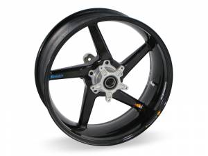 "BST Wheels - BST Diamond TEK Carbon Fiber 5 Spoke Rear Wheel [5.75"" Rear]: Ducati Monster 695ie-696-900ie, Sport Classic-GT1000, ST2-3-4-4S - Image 1"