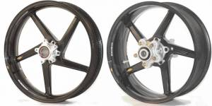 "BST Wheels - BST Diamond TEK 5 Spoke Wheels: Suzuki B King  [6.0"" Rear] - Image 1"