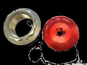 MVS Performance - MVS Performance Billet Wheel Nut & Rear axle Socket Tool Combo: MV AGUSTA