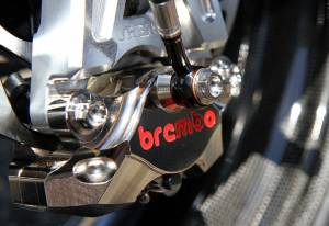 Brembo - BREMBO Nickel 84mm Mount CNC 2 Piece Rear Caliper [Pads included] - Image 1