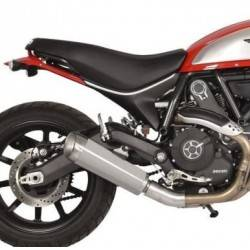 Spark - Spark Ducati Scrambler Slip-on: Evo V Stainless Steel, Made in Italy
