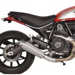 Spark - Spark Ducati Scrambler Slip-on: Evo V Stainless Steel