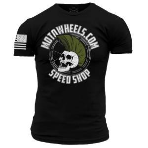 Motowheels - Motowheels Speedshop Shirt by Grunt Style